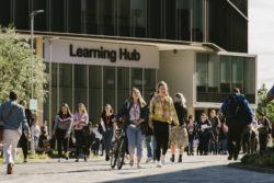 Learning Hub at the University of Northampton