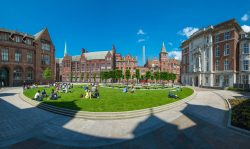 University of Liverpool outside area