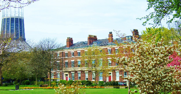 Abercromby Square Gardens, University of liverpool