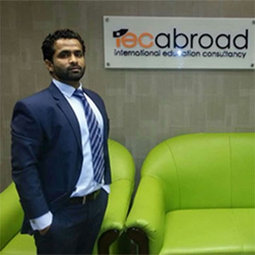 IEC Abroad team in office