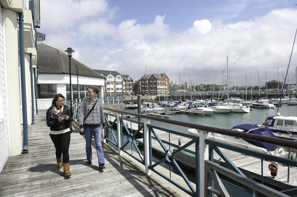 University of Southampton - harbour