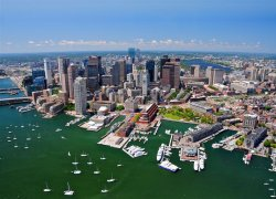 Aerial-view-of-Boston-MA-USA