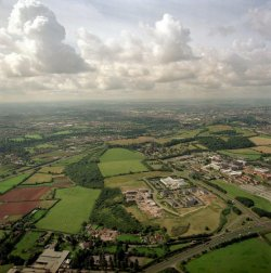University of the West of England, Bristol - picture from the air