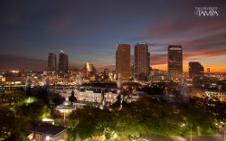 University of Tampa at night