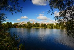 University of East Anglia lake