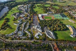 University of East Anglia from above