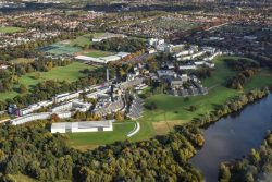 University of East Anglia from the air