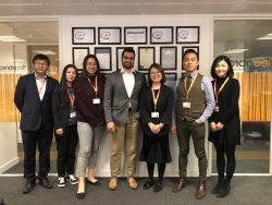 Team at IEC abroad Manchester office