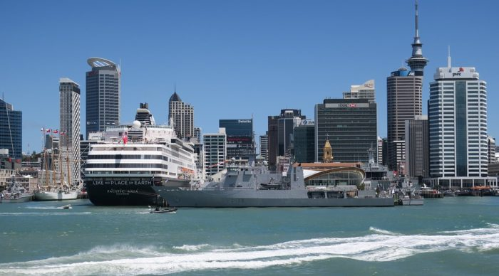 Study in New Zealand - Harbour of Auckland