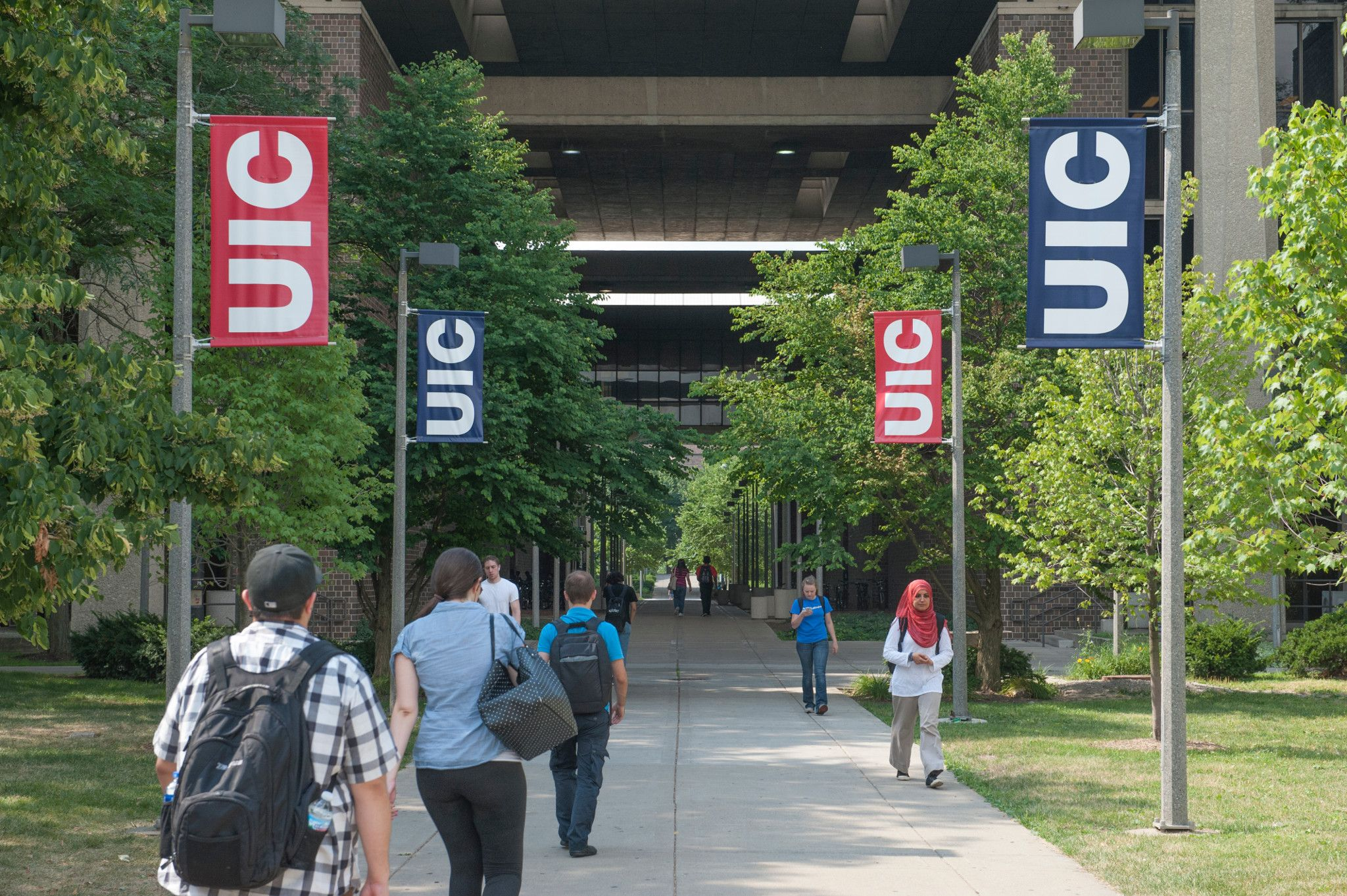 UIC University buildings